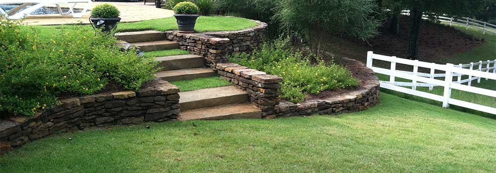 Retaining Walls - Outdoor Solutions - Jackson, Ms