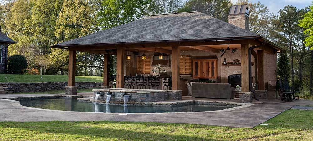 Outdoor Living Spaces - Outdoor Living Area - Jackson, MS