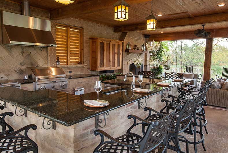 Louisiana House Plans With Outdoor Kitchen | DIY Woodworking
