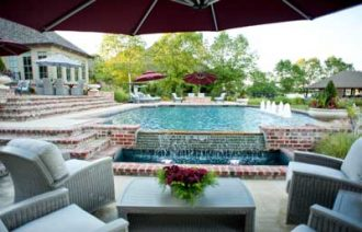 Outdoor Living Space by Outdoor Solutions